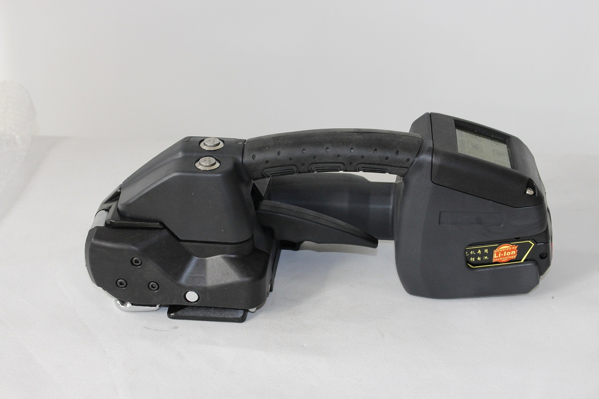 Battery powered automatic handheld strapping tool WPM-L300